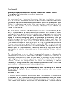 Statement in support of States at the HRC EN+ESP 17092013