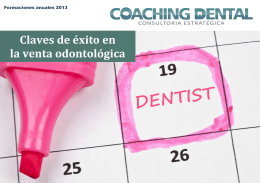 La venta odontológica - Logo Coaching Dental
