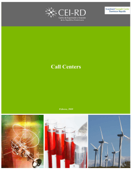 Call Centers - CEI-RD