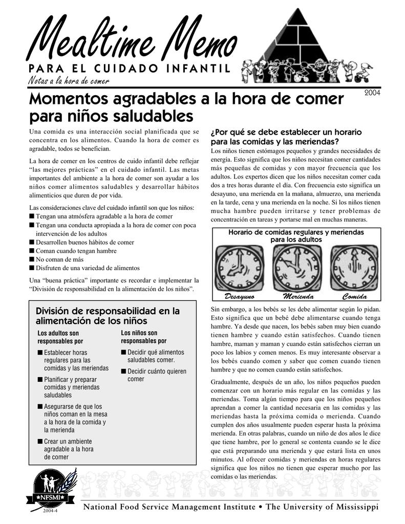 Meriendas saludables para adultos pdf