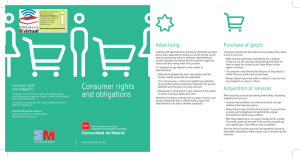 BVCM015493 Consumer rights and obligations