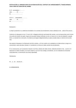 Contrato de arrendamiento de temporada - Contrato de alquiler de garaje ...