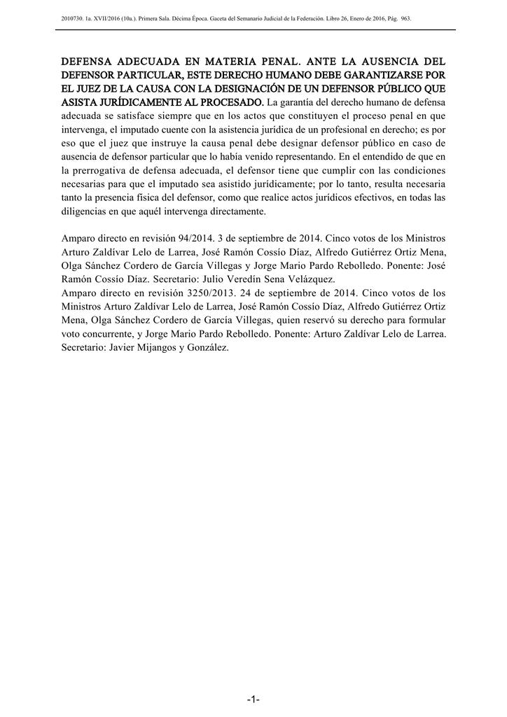 Descargar documento PDF - Semanario Judicial de la Federación