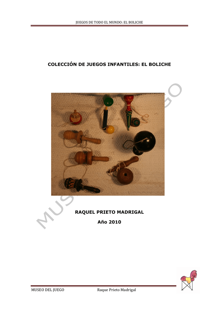 Del El Copia Juego Boliche Museo F1JTlKc
