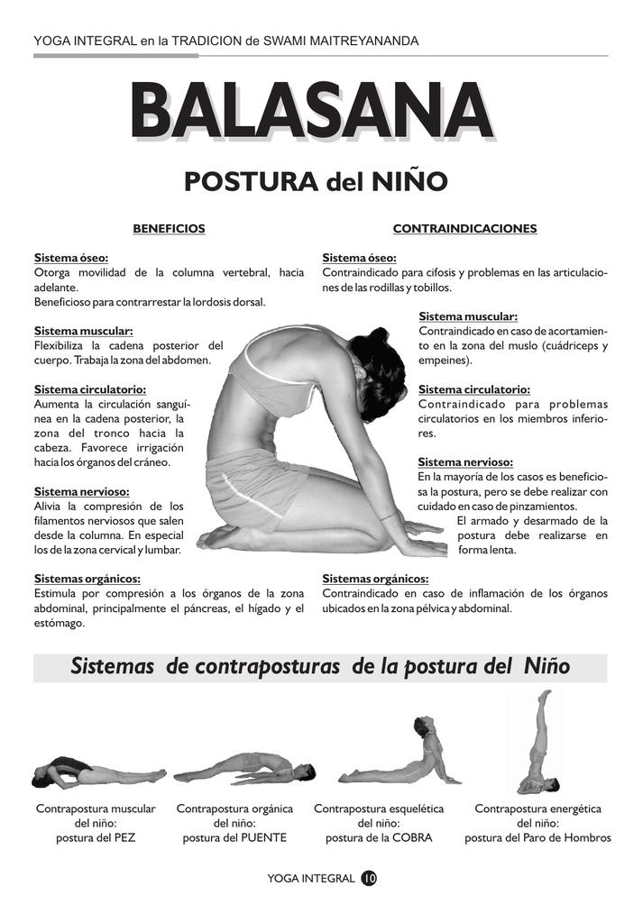 POSTURA del NIÑO - Revista Yoga Integral