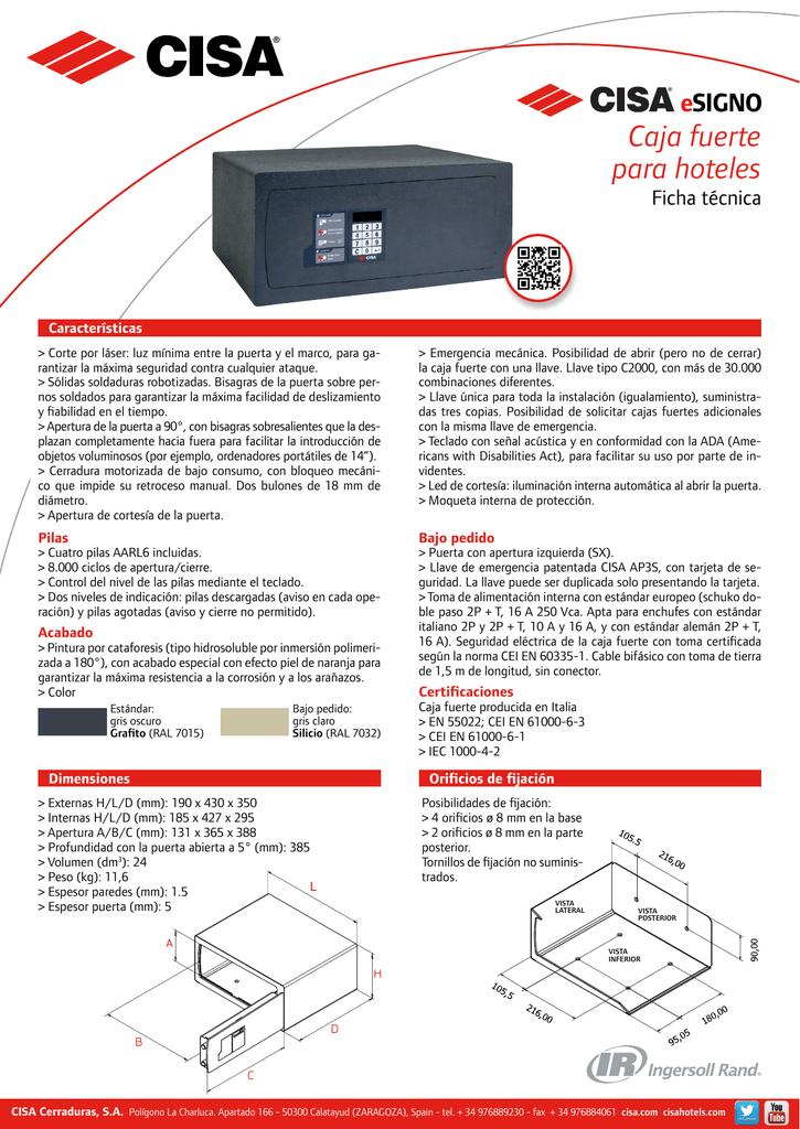 Caja Fuerte Mec/ánica