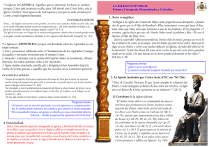 catequesis 1