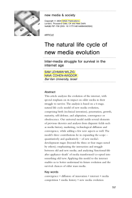 (2004). The Natural Life Cycle of New Media Evolution