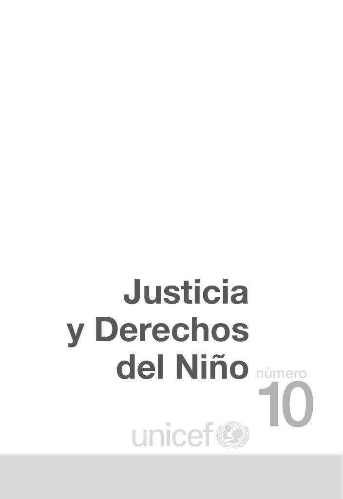 Justicia y Derechos del Niñonúmero