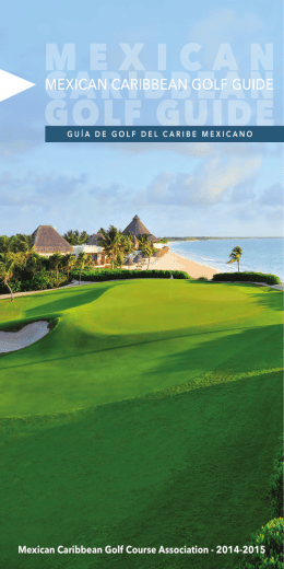 Mexican Caribbean Golf Course Association - 2014-2015