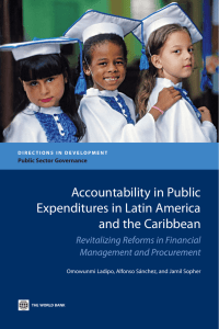 Accountability in Public Expenditures in Latin America