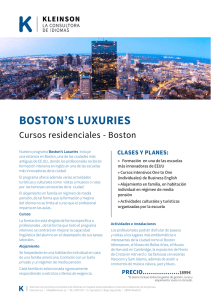 boston`s luxuries