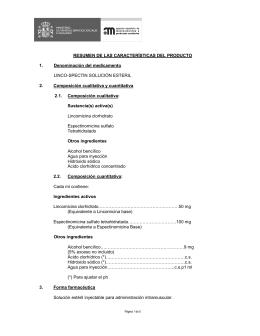 Lincocin Antibiotico Inyectable