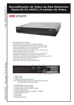 CATALOGO HK-DS6408HDI-T