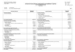 estado de ejecución del presupuesto de ingresos y gastos ep 1