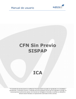 Manual de usuario CFN sin documento previo