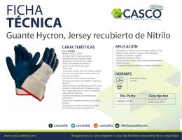 Guante Hycron, Jersey recubierto de Nitrilo 27-607 56e393beb1