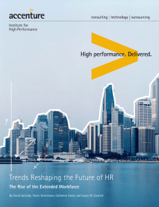 Trends Reshaping the Future of HR