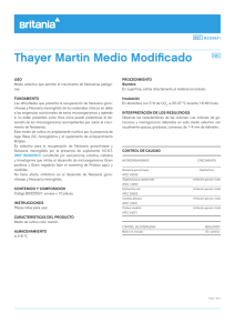 Thayer Martin Medio Modificado