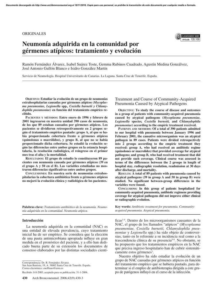 tratamiento de neumonía adquirida en la comunidad buenas pautas para la diabetes