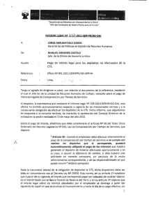 Informe Legal 667-2011-SERVIR-GG-OAJ