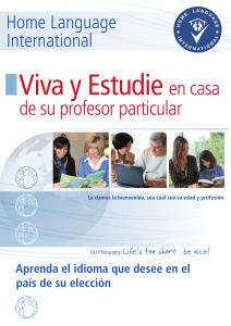 de su profesor particular - Home Language International