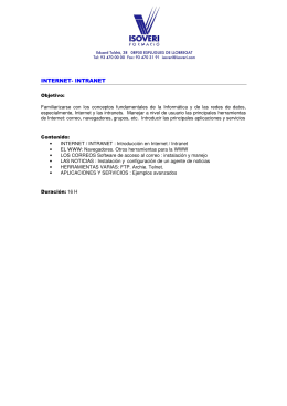 INTERNET- INTRANET