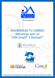 Gmail - Universidad Politécnica de Madrid