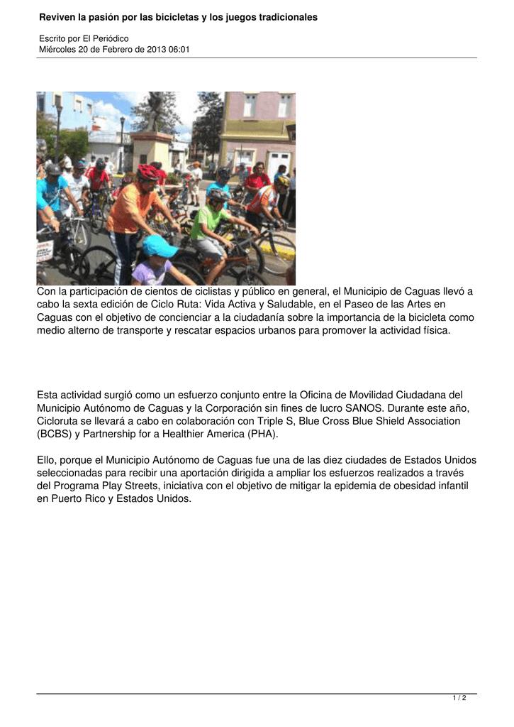 Reviven La Pasion Por Las Bicicletas Y Los Juegos Tradicionales