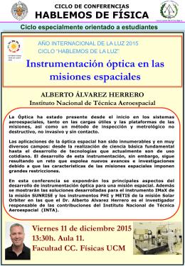 217c6051c22a9 Instrumentación óptica en las misiones espaciales