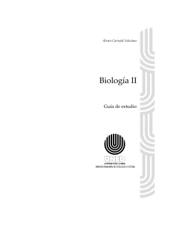 Biología II - Universidad Estatal a Distancia