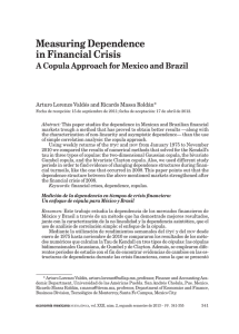 Measuring Dependence in Financial Crisis: A Copula Approach for