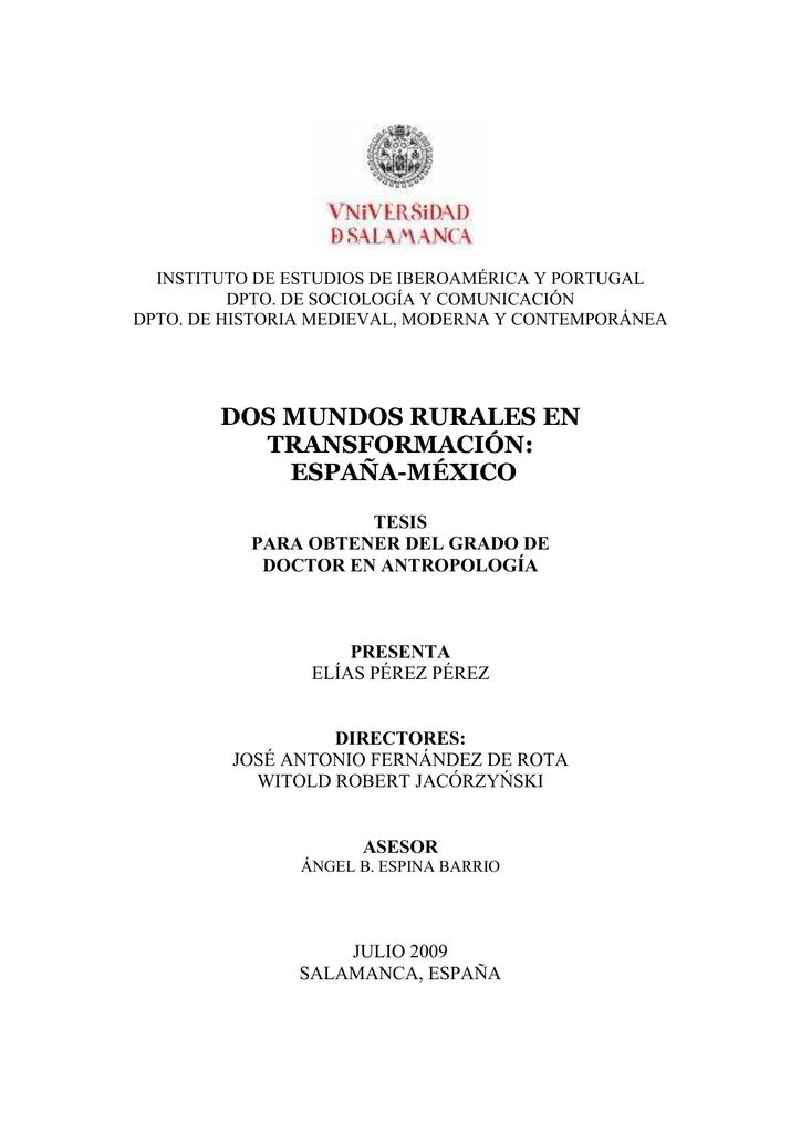 Elias Pérez tesis oficial - Gredos