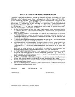 Ley De Derecho Laboral Todas Las Empresas Nacionales O