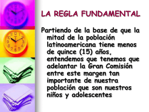 LA REGLA FUNDAMENTAL