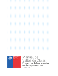 "Manual de ""Vallas (Letreros) de Obras"""