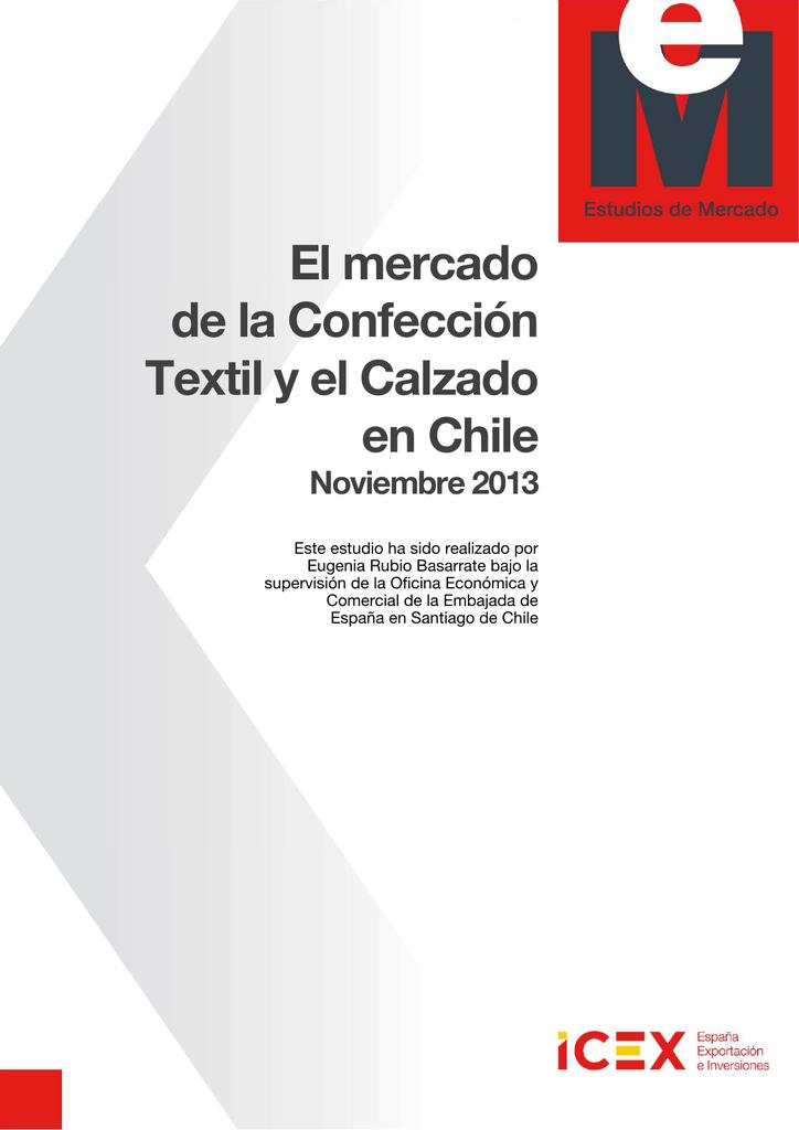 00c05515104 El mercado de la Confección Textil y el Calzado en Chile