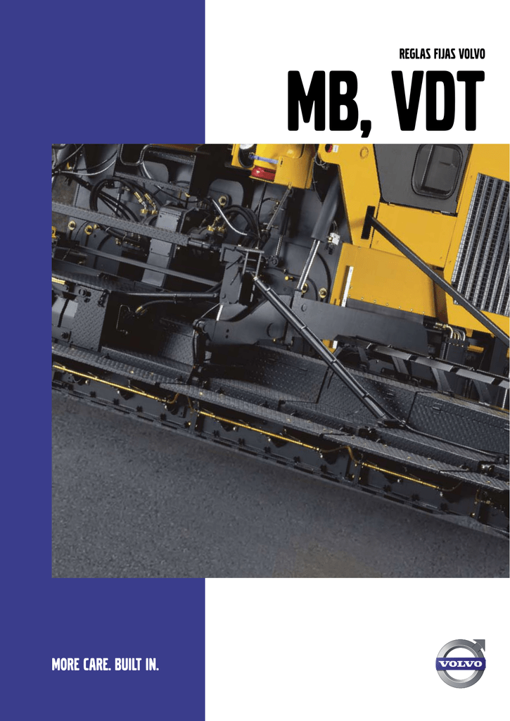 Reglas fijas ABG - Volvo Construction Equipment