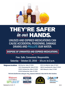 unused and expired medications can cause