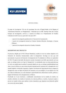 "El grupo de investigación ""We are all Ayotzinapa: the role of Digital"