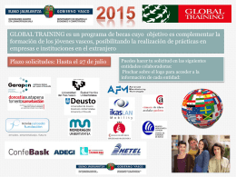 Global Training 2015