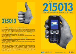 SMS to Send an SMS to 215013 with the word
