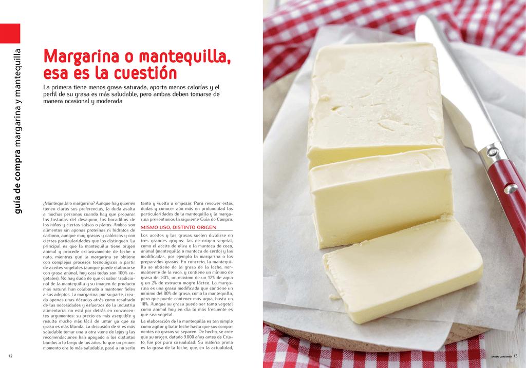es la margarina mejor que la mantequilla para la diabetes