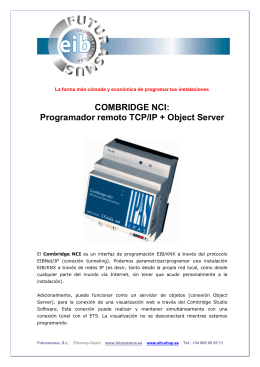 COMBRIDGE NCI - Futurasmus KNX Group