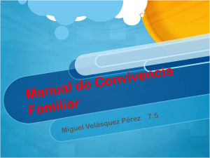 Manual de Convivencia Familiar