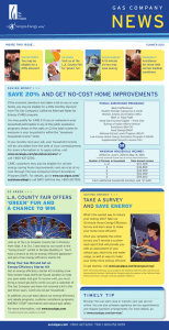SAVE 20% AND GET NO-COST HOME IMPROVEMENTS