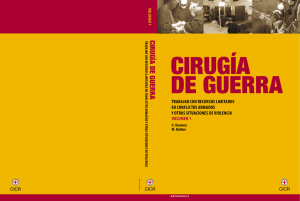 cirugía de guerra - International Committee of the Red Cross