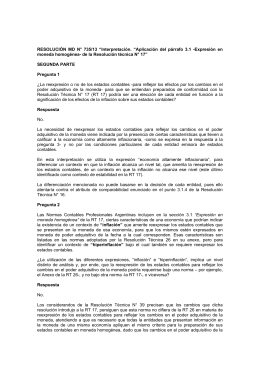 "RESOLUCIÓN MD N° 735/13 ""Interpretación"