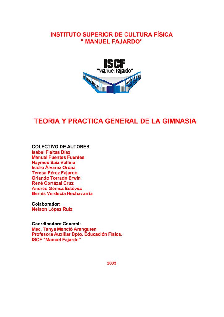 gimnasia basica - Sitio Oficial del INDER
