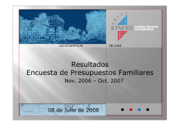 (2008), INE - Instituto Nacional de Estadísticas
